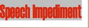 speech impediment logo